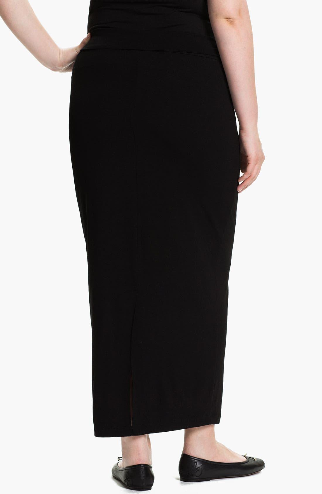 Alternate Image 2  - Eileen Fisher Jersey Maxi Skirt (Plus)