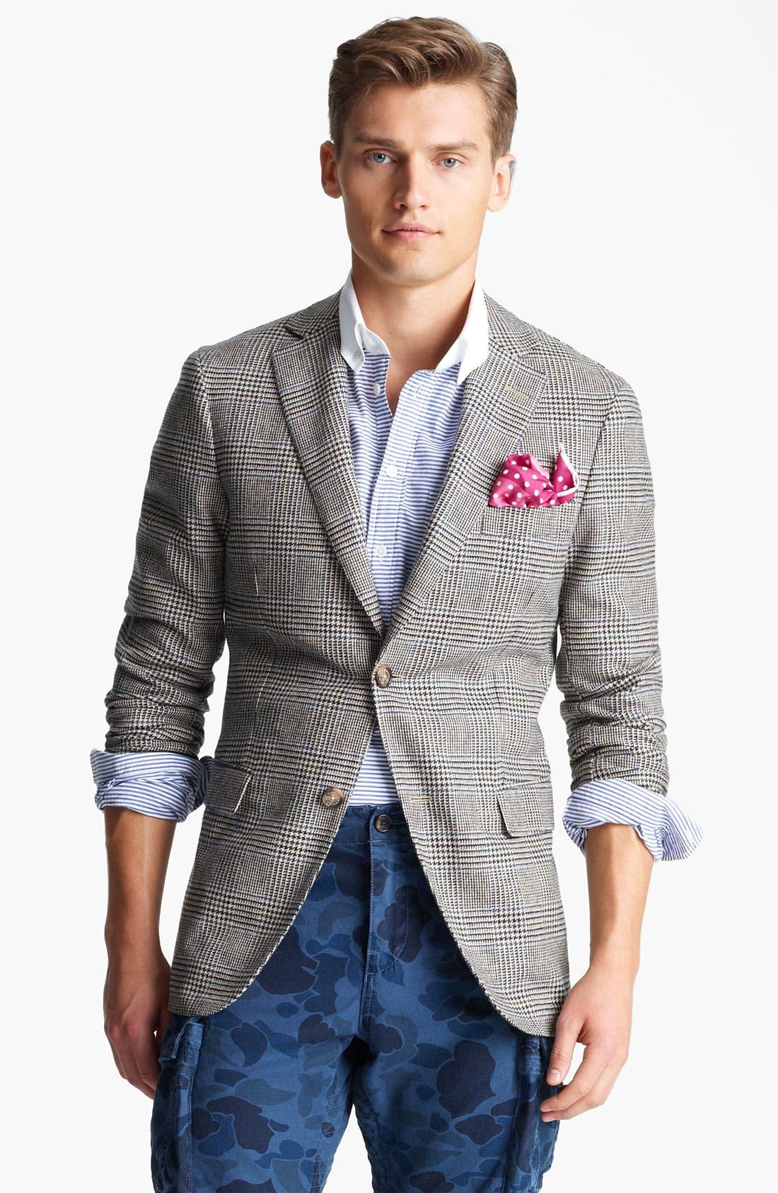 Alternate Image 1 Selected - Gant Glen Plaid Wool Blazer