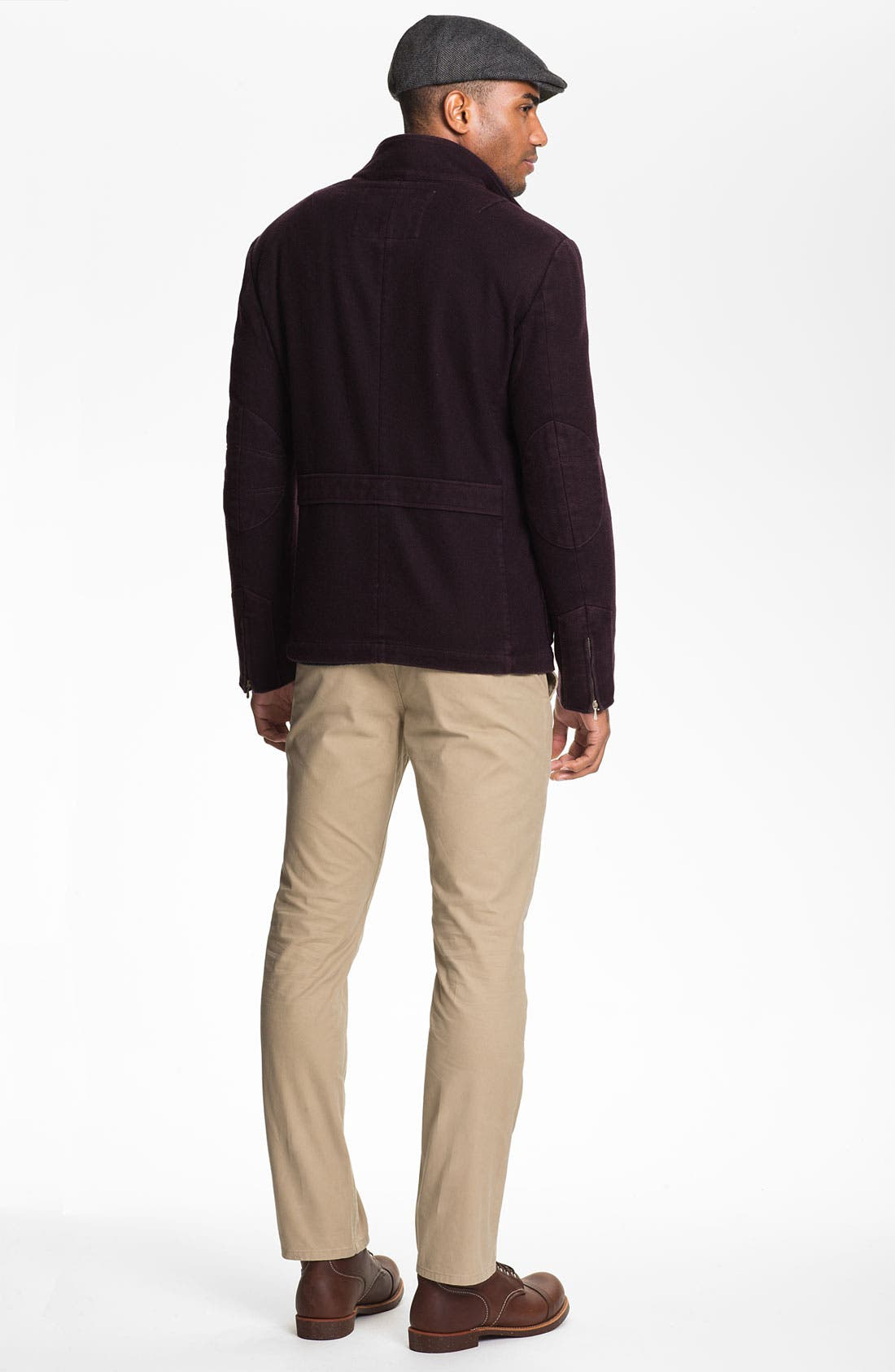 Alternate Image 4  - Wallin & Bros. 'Norwood' Cable Knit Sweater