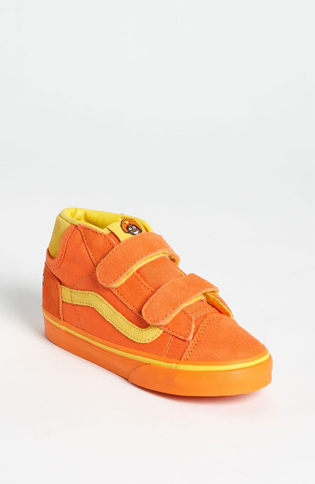 Main Image - Vans 'Mid Skool 77 - Yo Gabba Gabba™! - Mid Skool 77' Sneaker (Baby, Walker & Toddler)