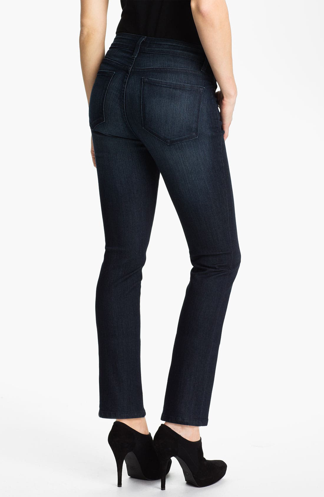 Alternate Image 2  - NYDJ 'Sheri' Stretch Skinny Jeans (Petite)