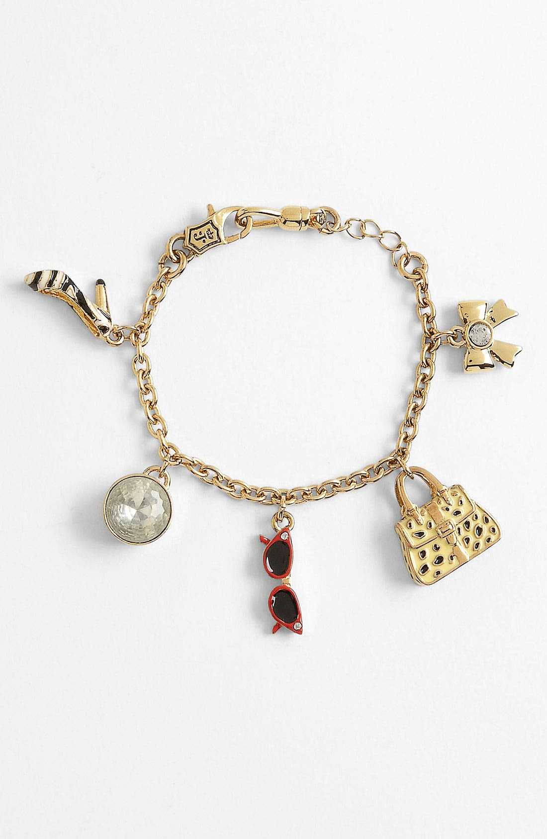 Alternate Image 1 Selected - Juicy Couture Charm Bracelet (Girls)