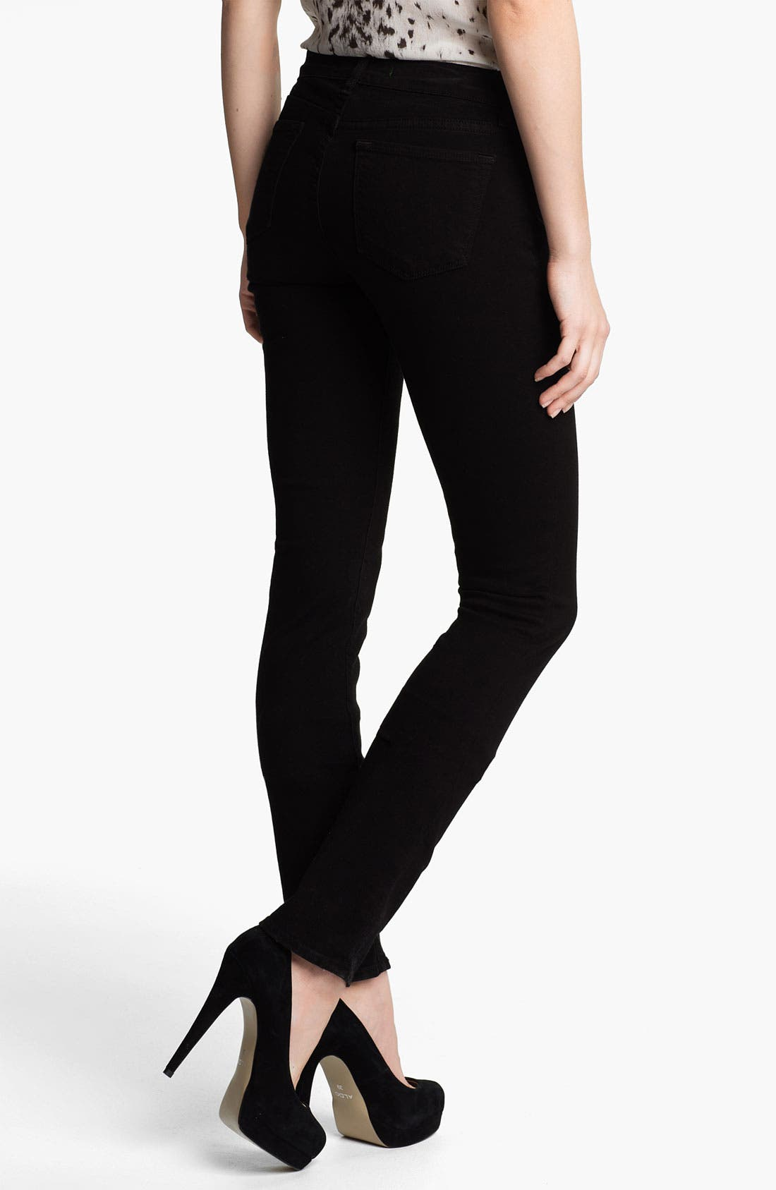 Alternate Image 2  - J Brand 'Pencil Leg' Stretch Jeans (Shadow)