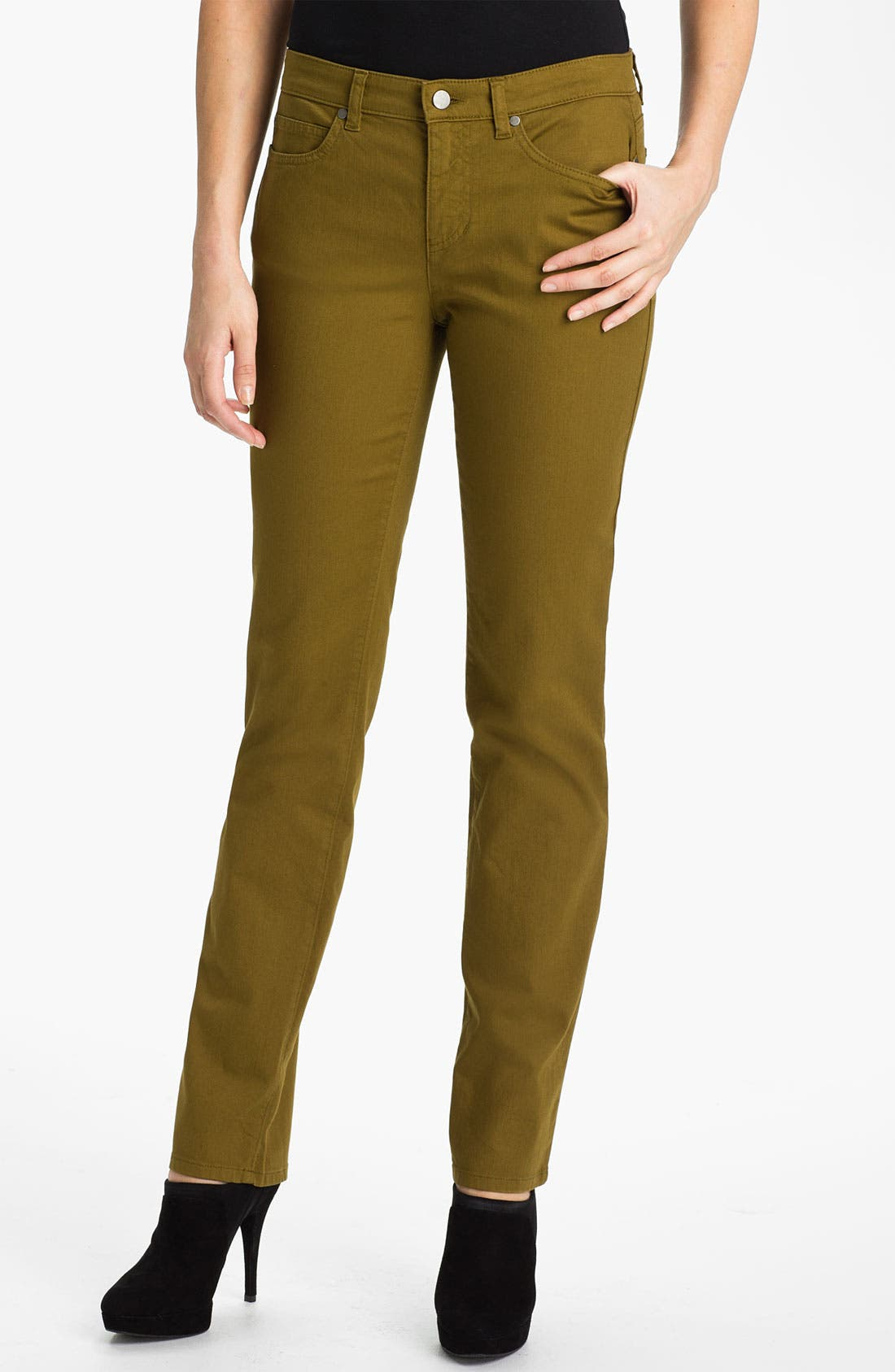 Main Image - Eileen Fisher Colored Denim Jeans