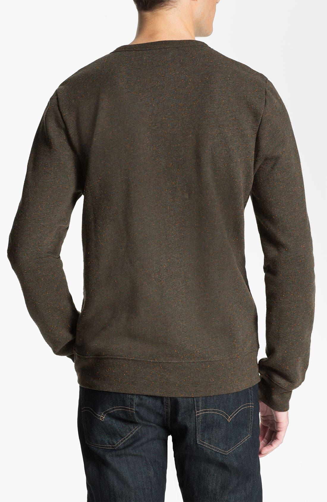 Alternate Image 2  - Obey 'Rye' Crewneck Sweatshirt