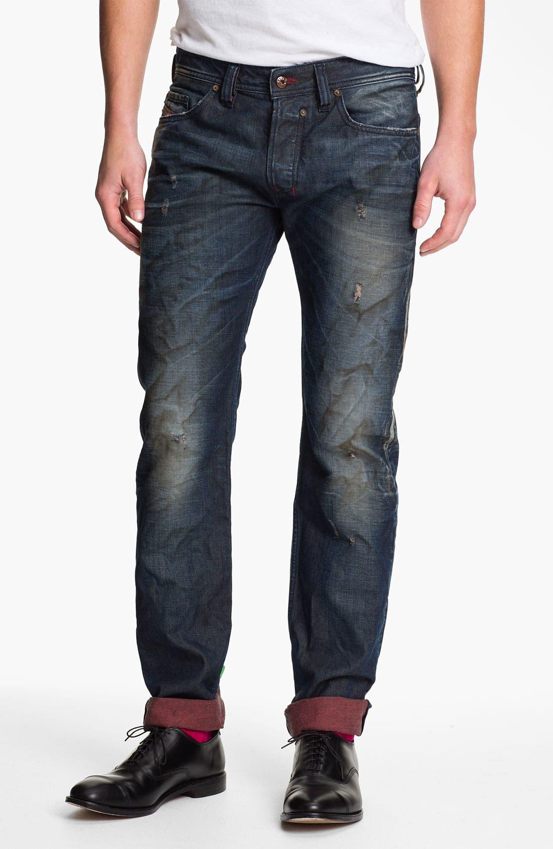 Alternate Image 2  - DIESEL® 'Safado' Straight Leg Jeans (0804K)