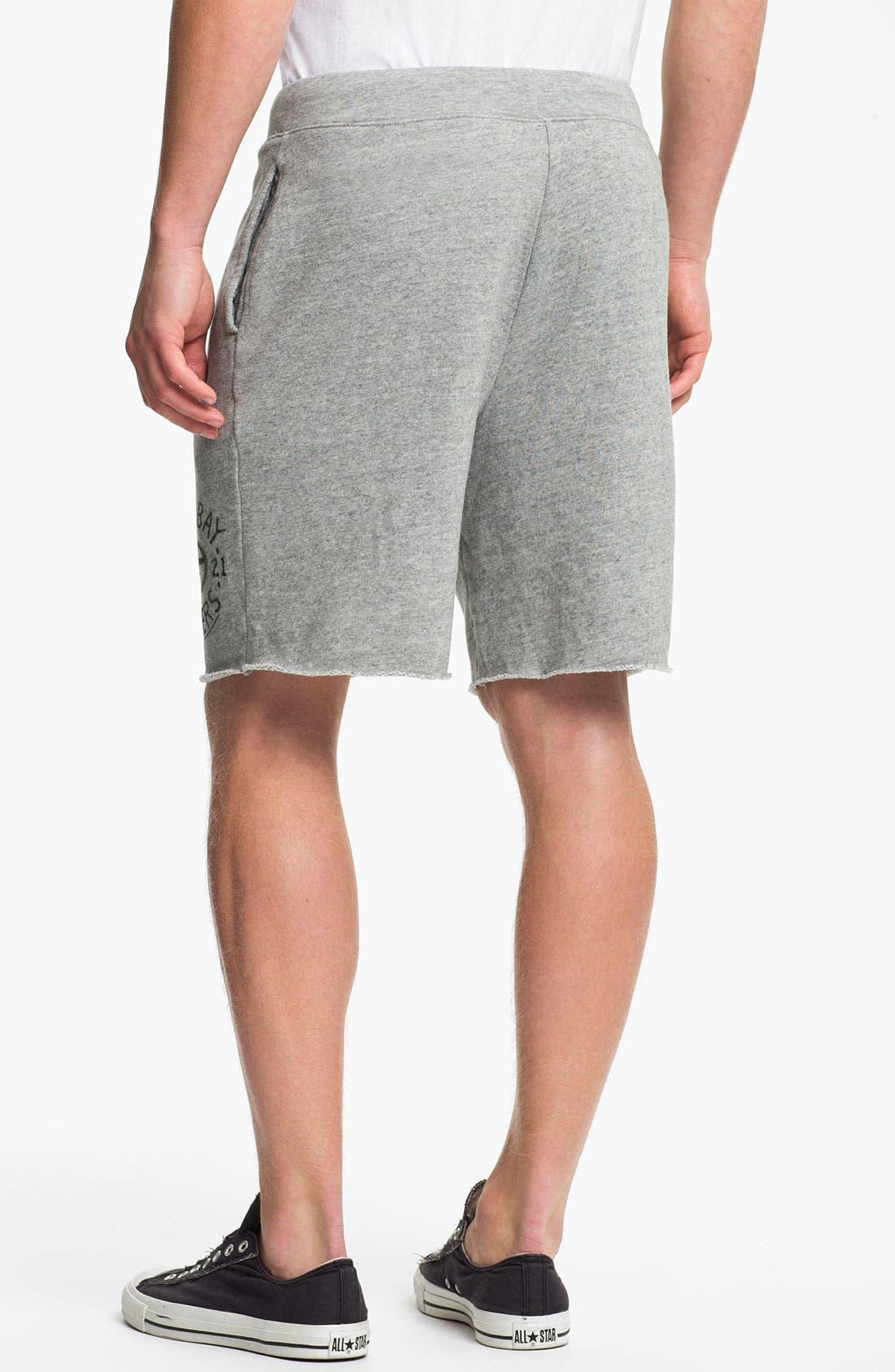 Alternate Image 2  - Junk Food 'Green Bay Packers' Athletic Shorts
