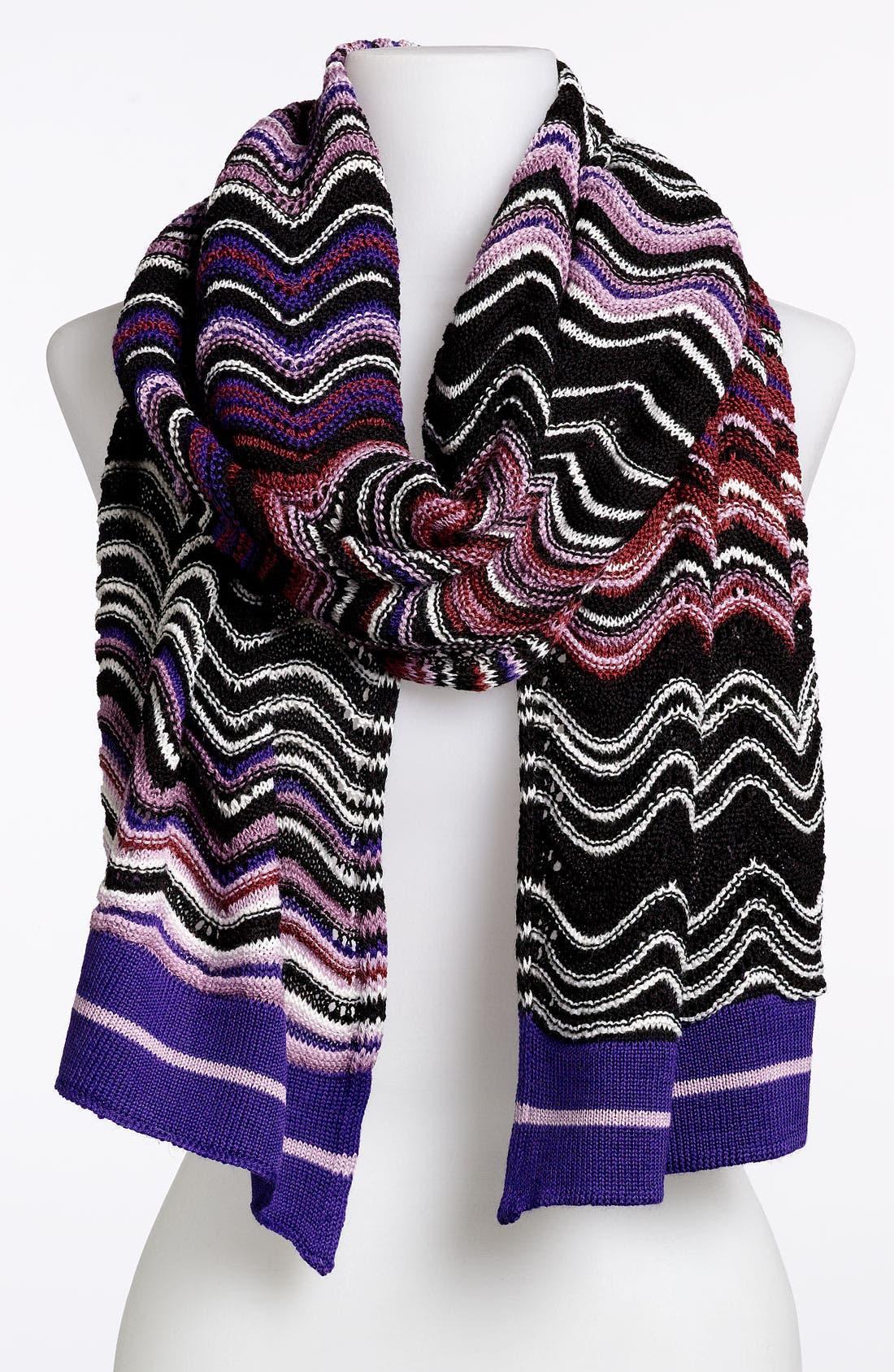 Alternate Image 1 Selected - Missoni Wool Blend Scarf