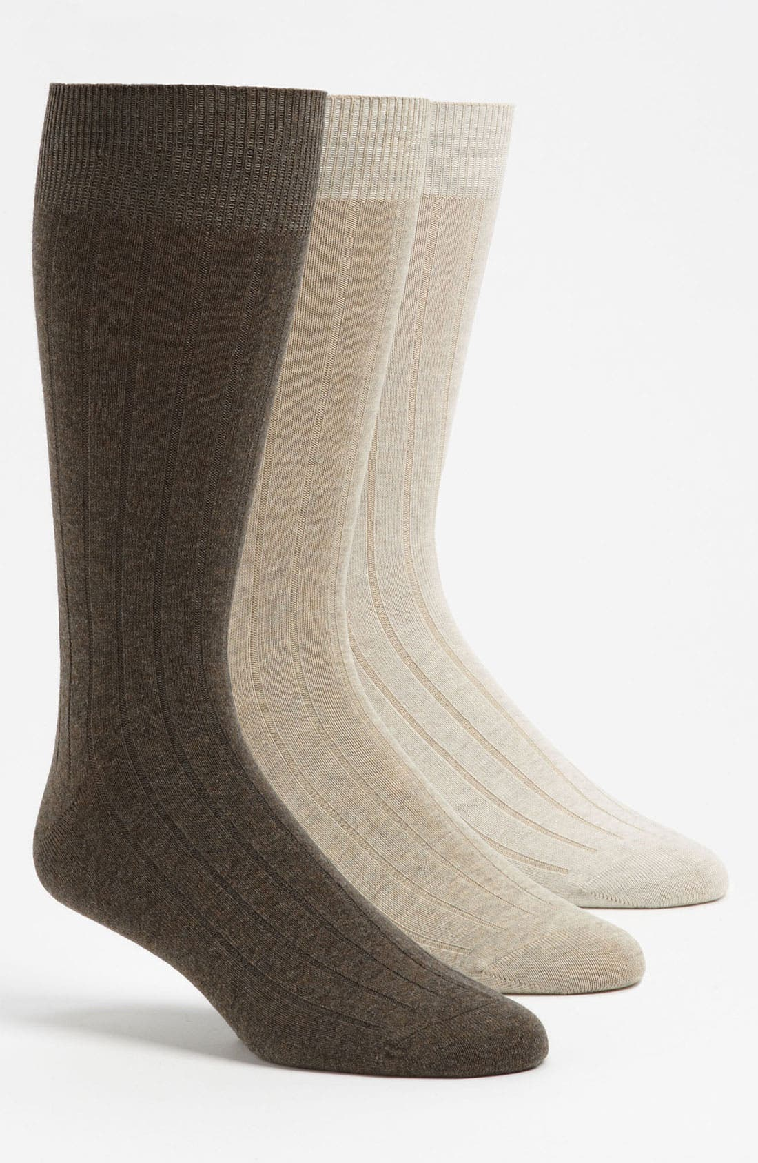 Main Image - Tommy Bahama 'Cayman Casual' Crew Socks (3-Pack)