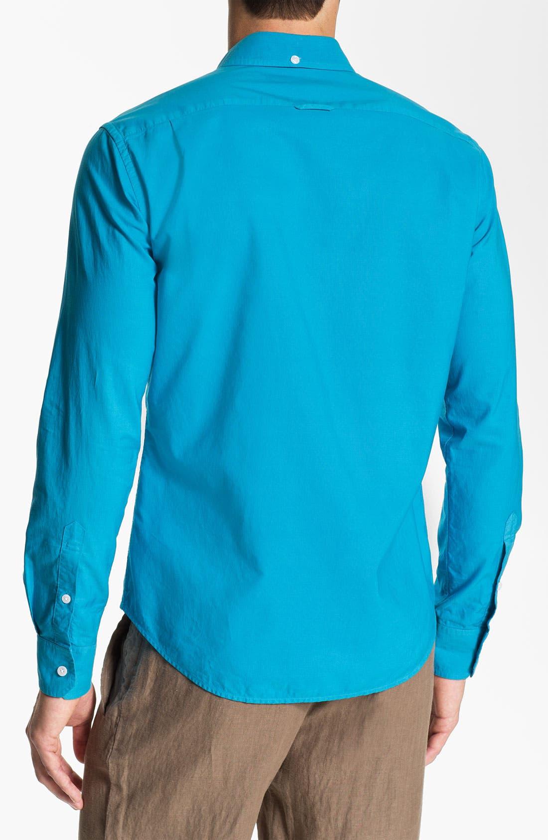 Alternate Image 2  - Vince Garment Dyed Sport Shirt