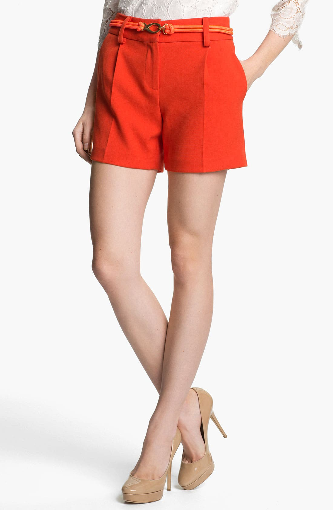 Main Image - Milly Belted Shorts