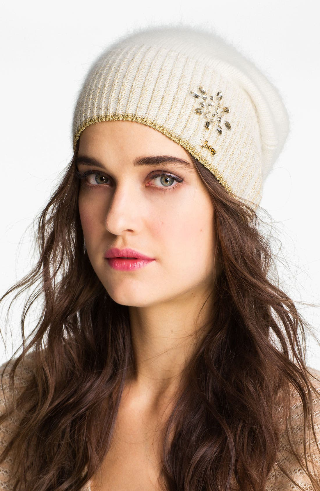 Alternate Image 1 Selected - Juicy Couture Angora Blend Beanie