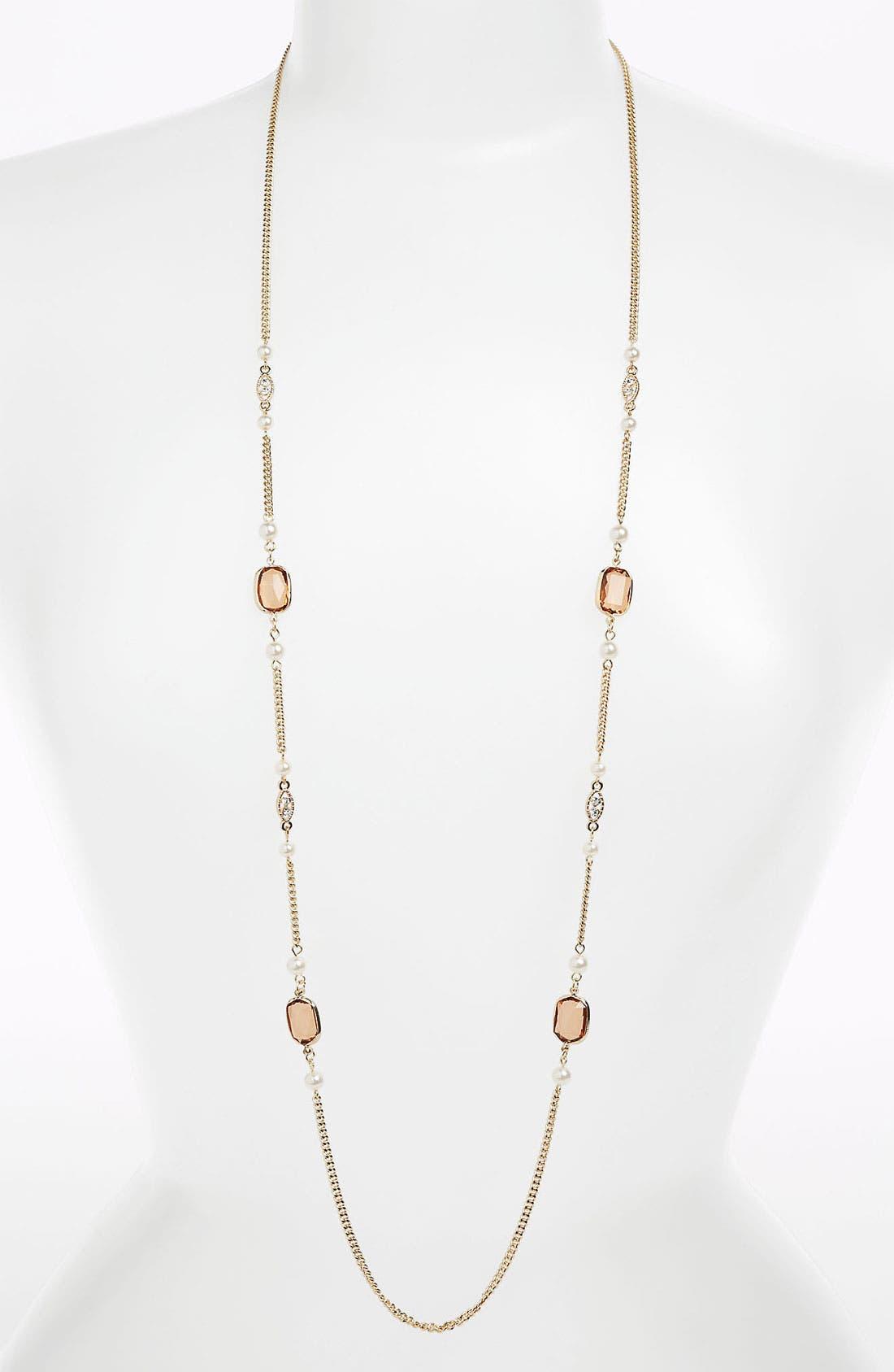 Alternate Image 1 Selected - Stephan & Co. Delicate Vintage Necklace