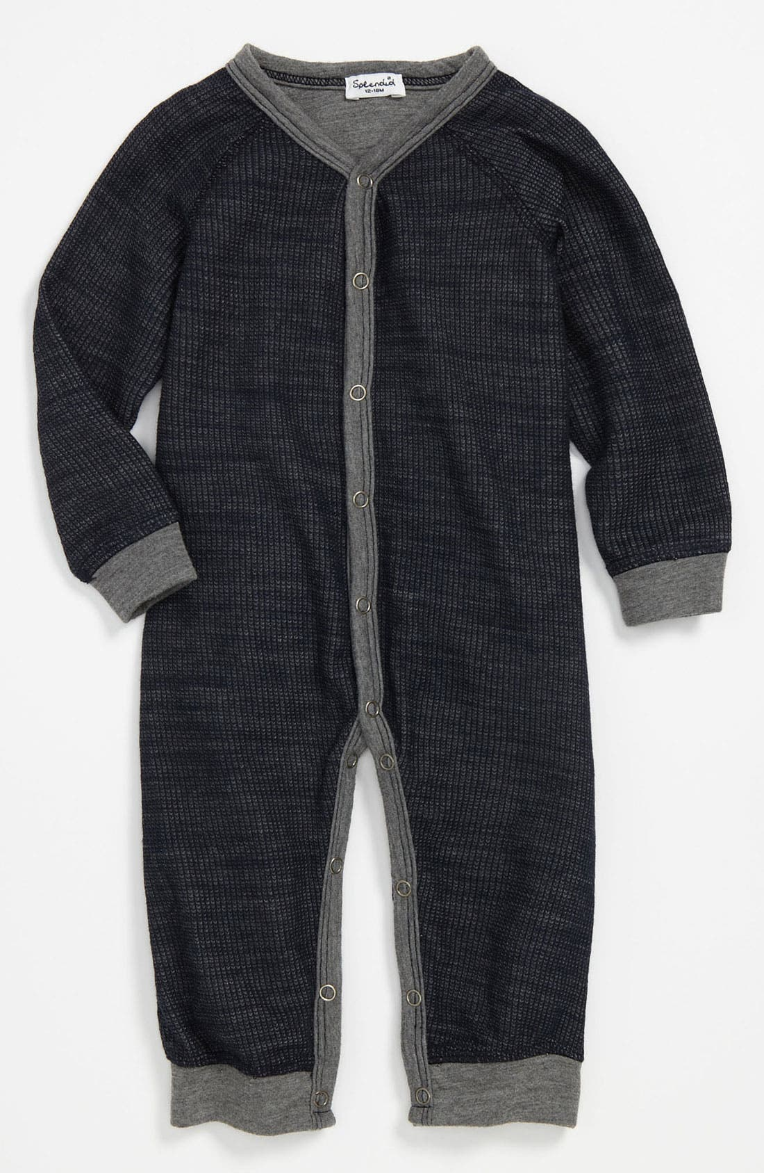 Alternate Image 1 Selected - Splendid Thermal Romper (Infant)