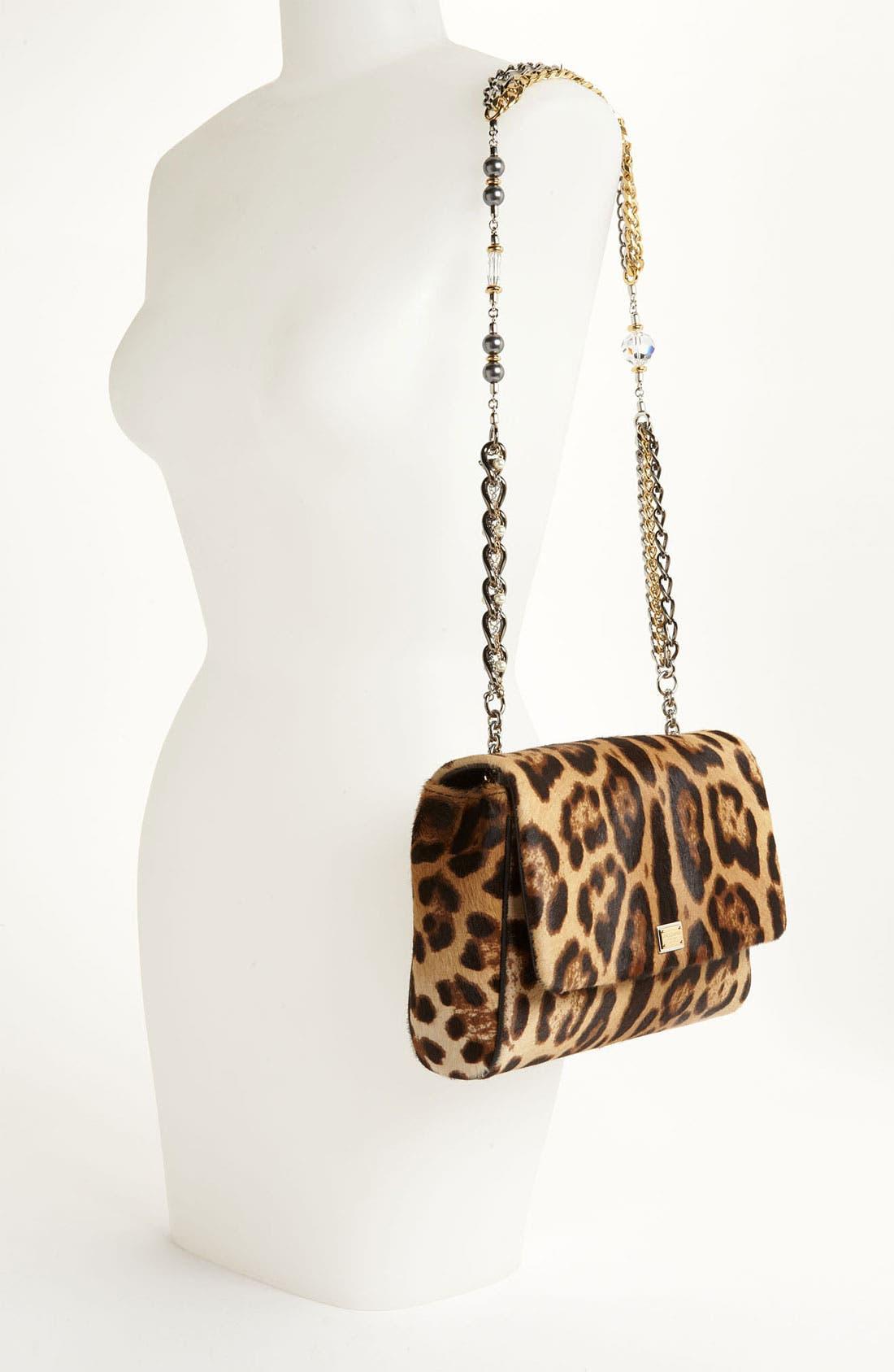 Alternate Image 2  - Dolce&Gabbana 'Miss Charles' Calf Hair Shoulder Bag