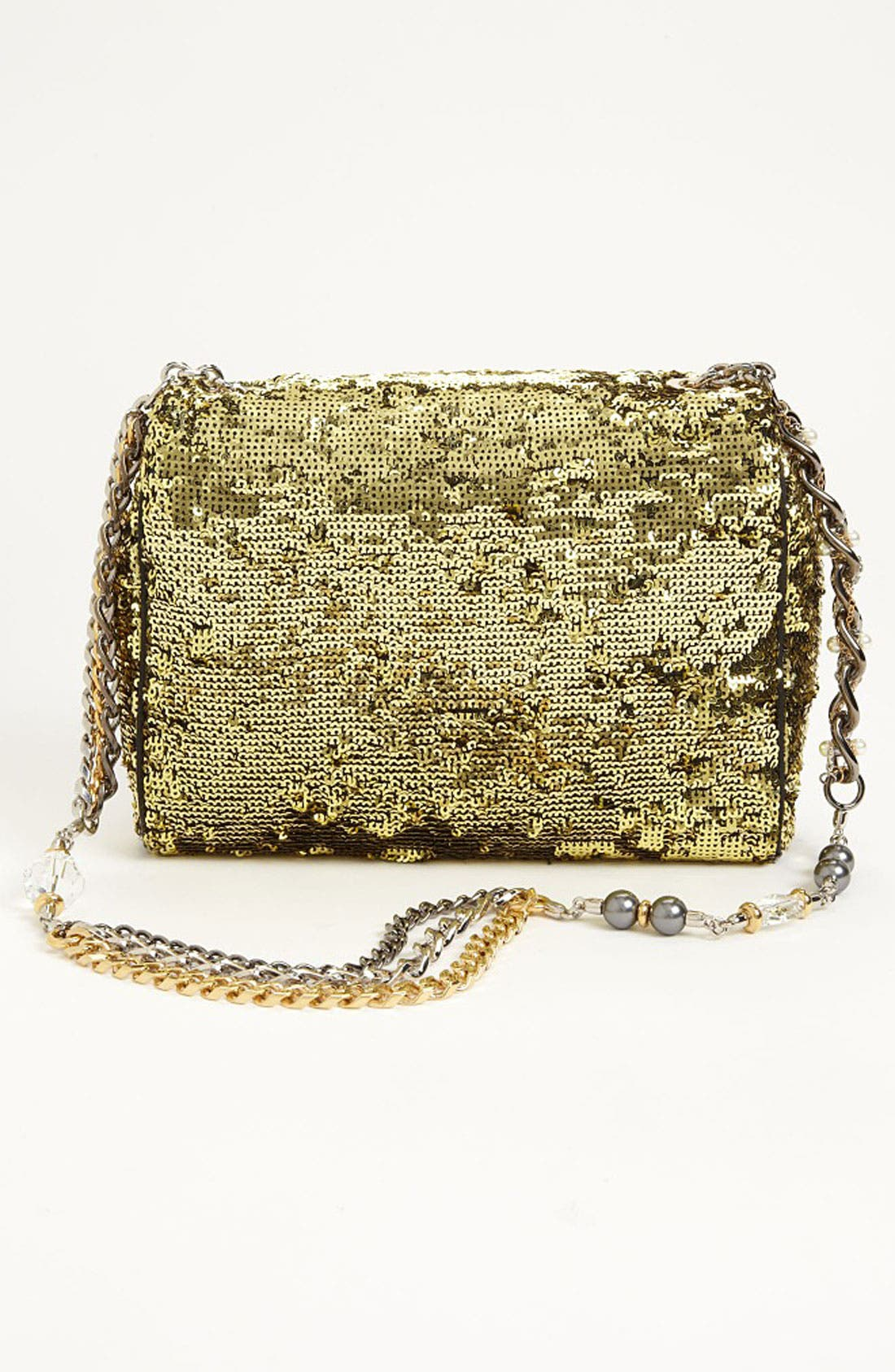 Alternate Image 4  - Dolce&Gabbana 'Miss Charles' Sequin Shoulder Bag