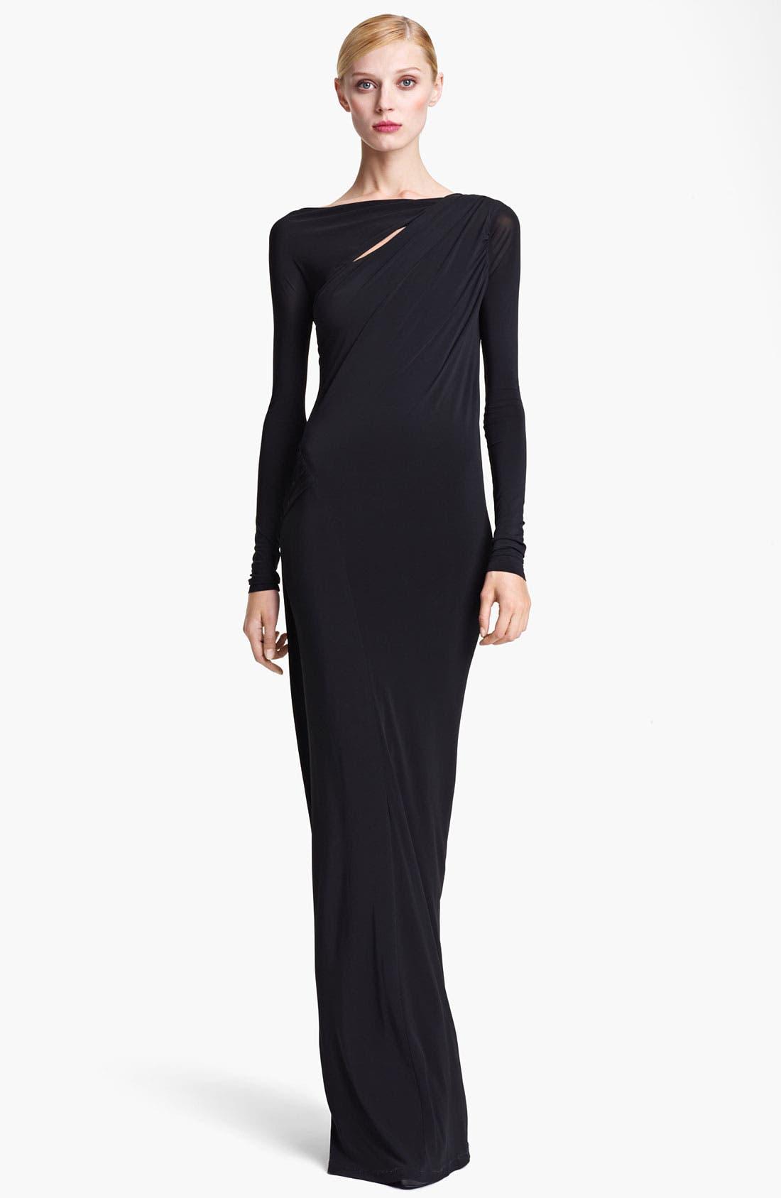 Main Image - Donna Karan Collection Jersey Column Gown