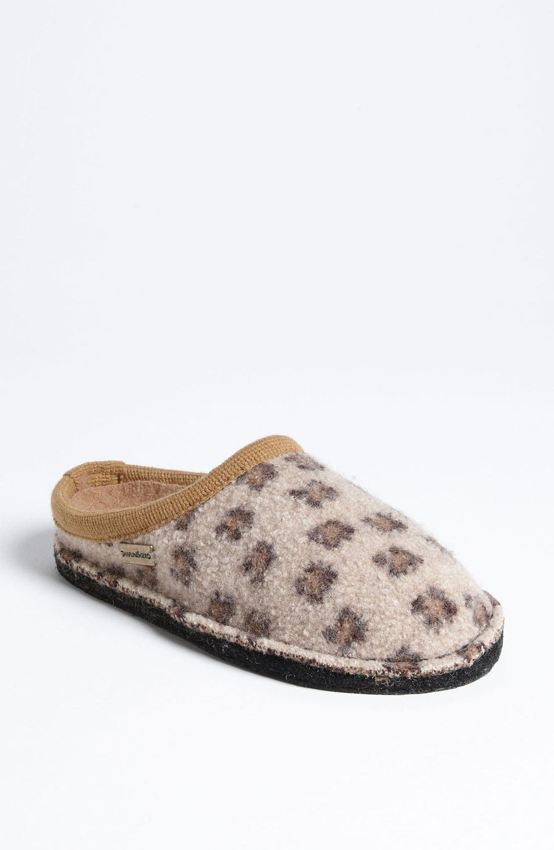 Alternate Image 1 Selected - Haflinger 'Cheetah' Slipper