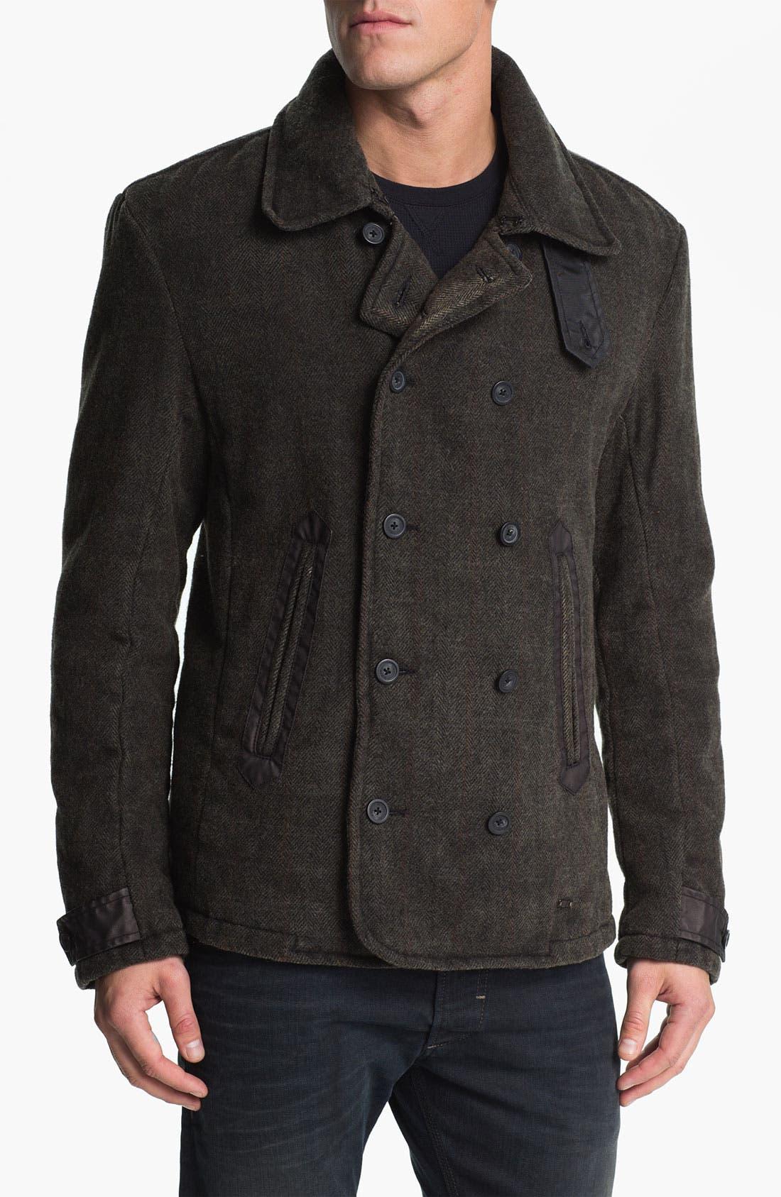 Alternate Image 1 Selected - DIESEL® 'Warner' Herringbone Jacket
