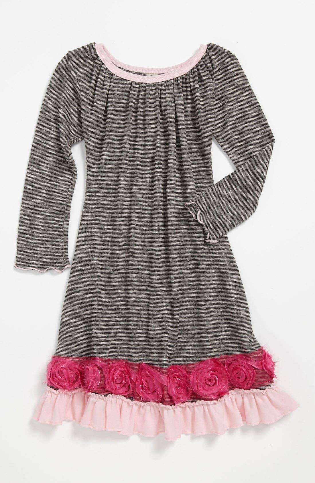 Main Image - Mignone Stripe Dress (Toddler)