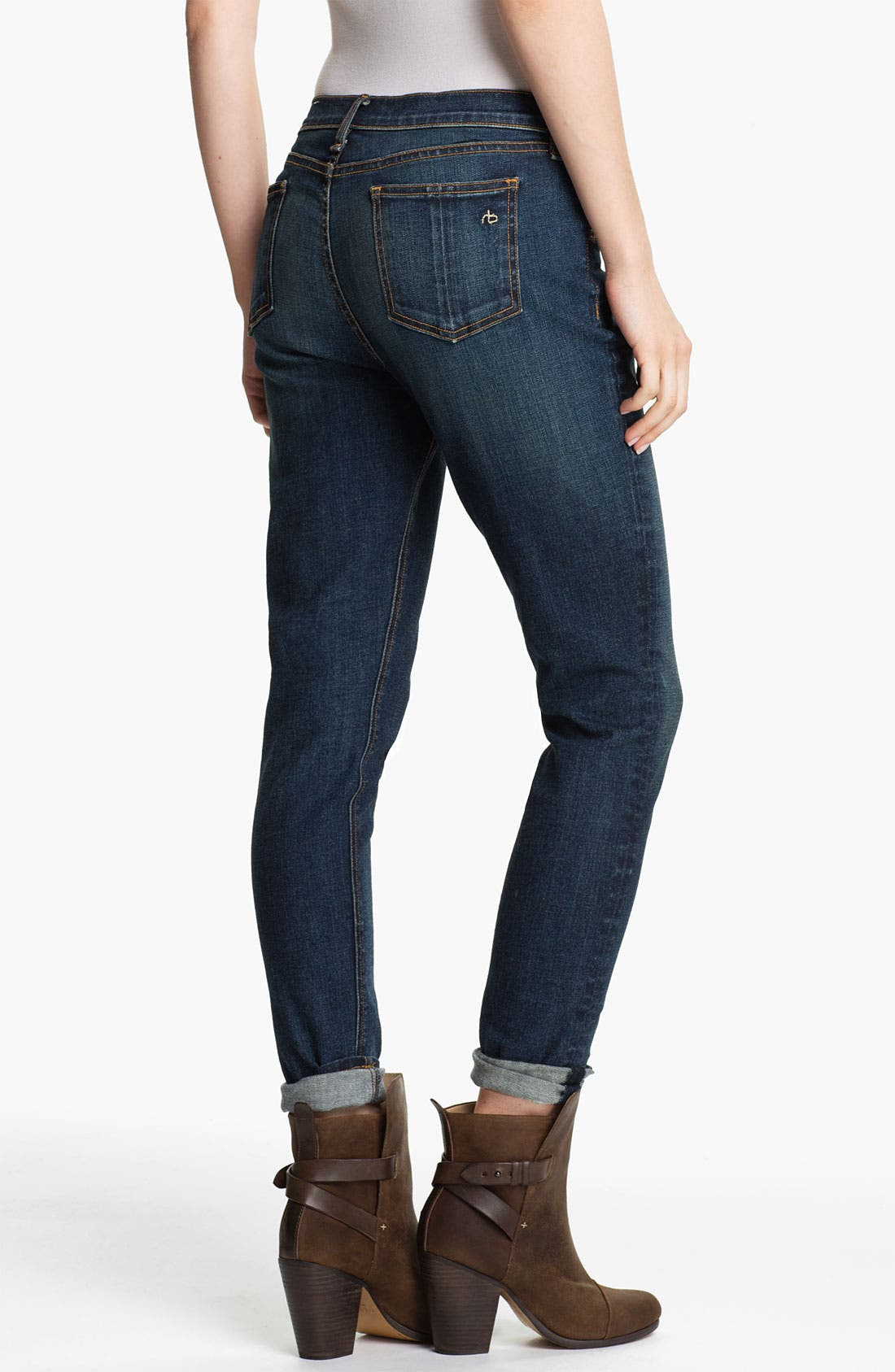 Alternate Image 2  - rag & bone 'The Dash' Slouchy Fit Jeans