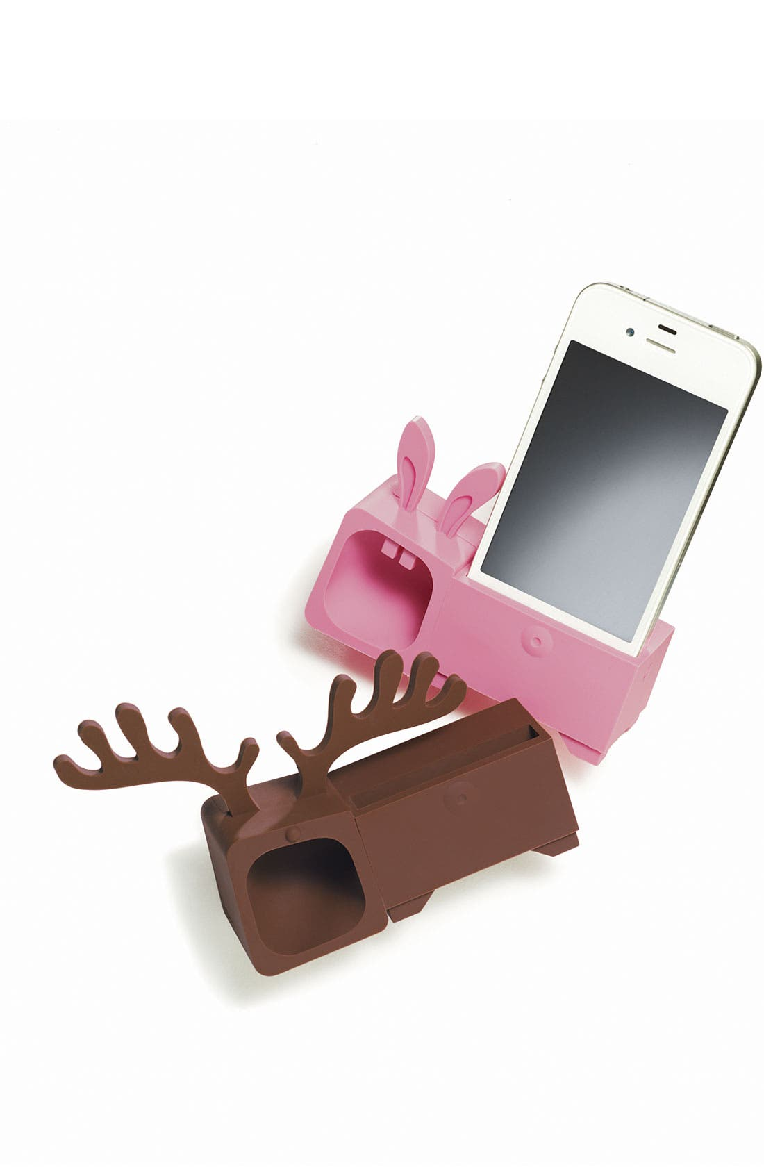Alternate Image 2  - Ozaki 'O! Music Zoo - Rabbit' iPhone 4 & 4S Stand & Amp