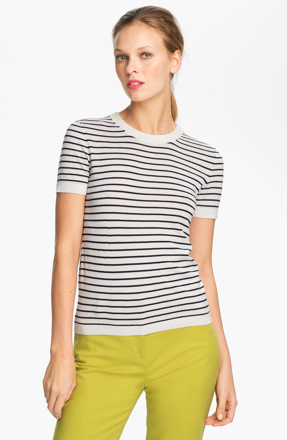 Alternate Image 1 Selected - kate spade new york 'nataly' crewneck sweater
