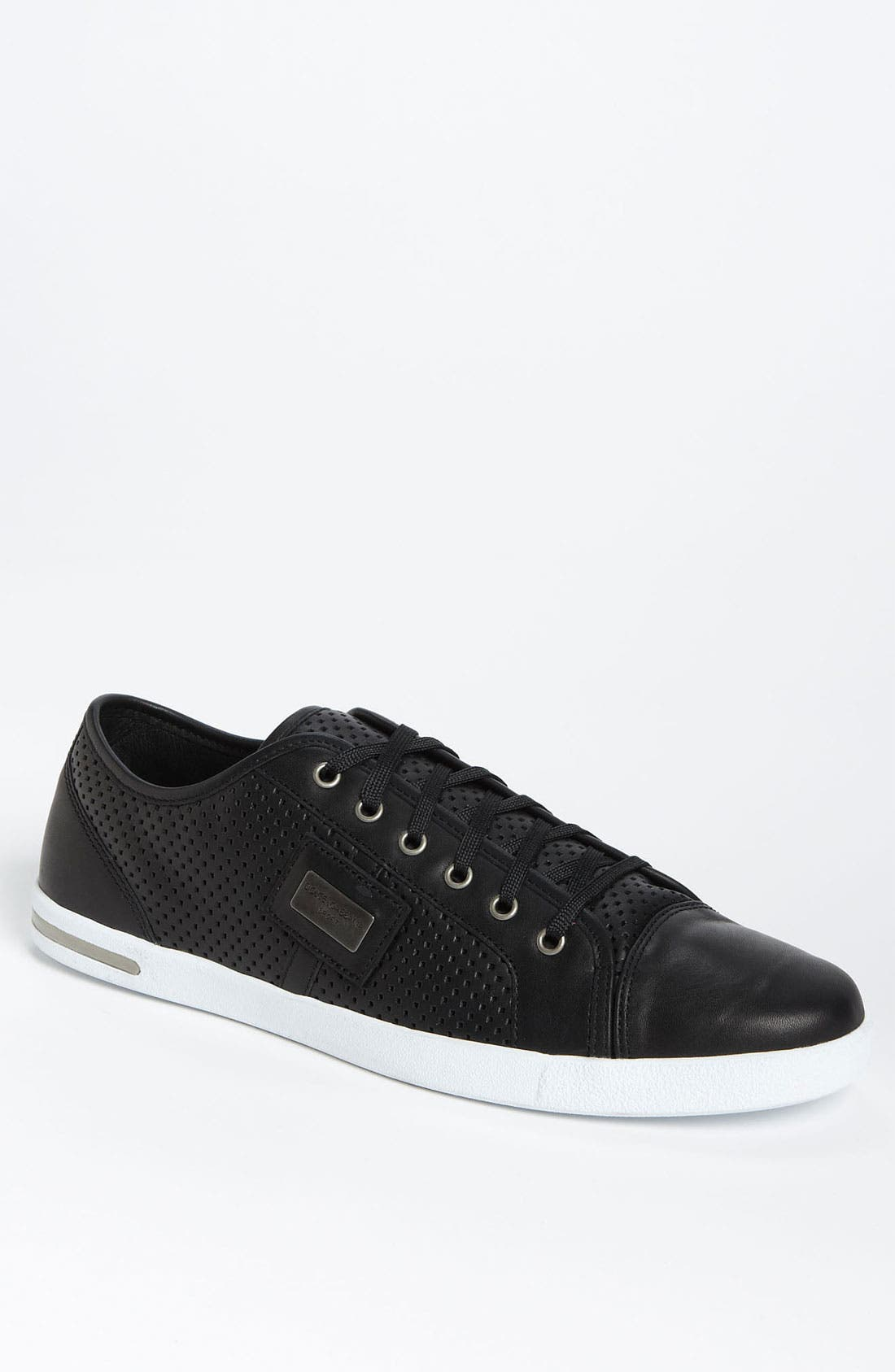 Alternate Image 1 Selected - Dolce&Gabbana Perforated Sneaker