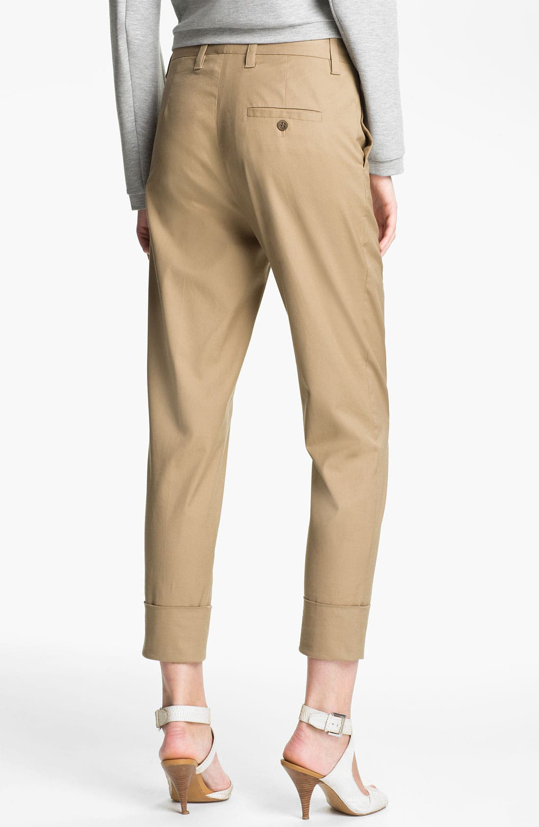 Alternate Image 2  - 3.1 Phillip Lim Tapered Flat Front Trousers