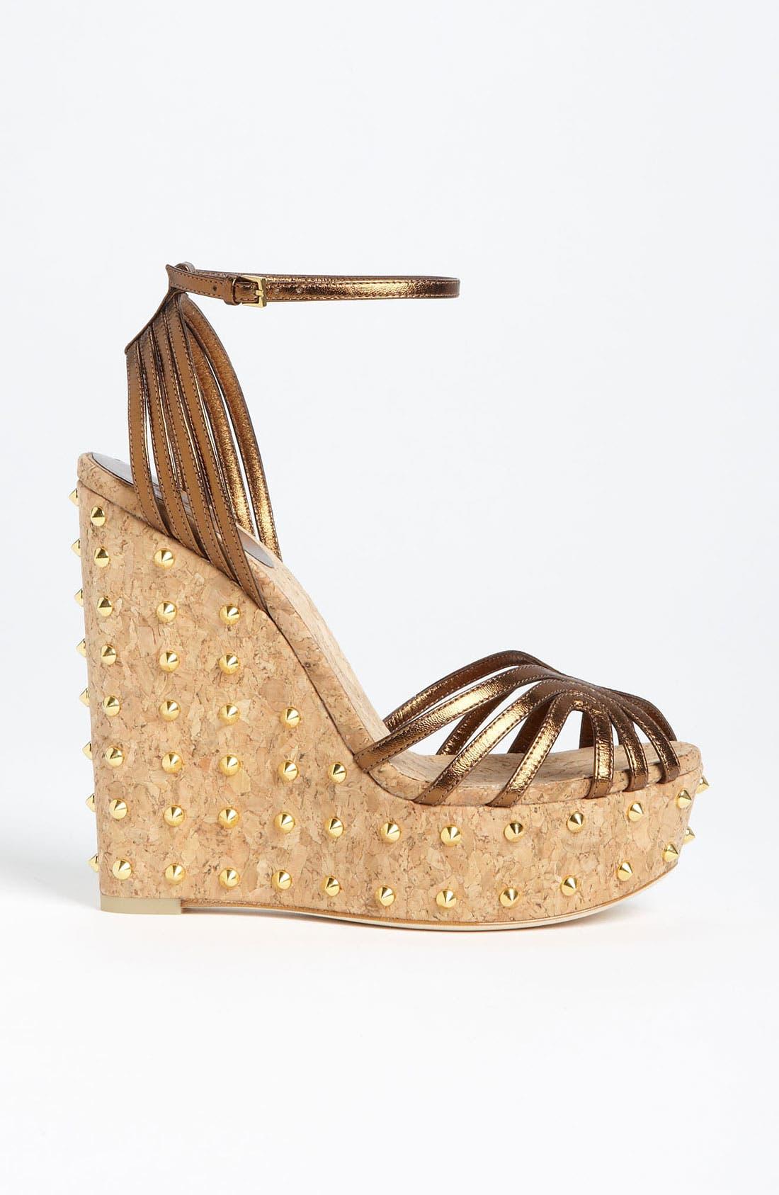 Alternate Image 4  - Gucci 'Cecyl' Wedge Sandal