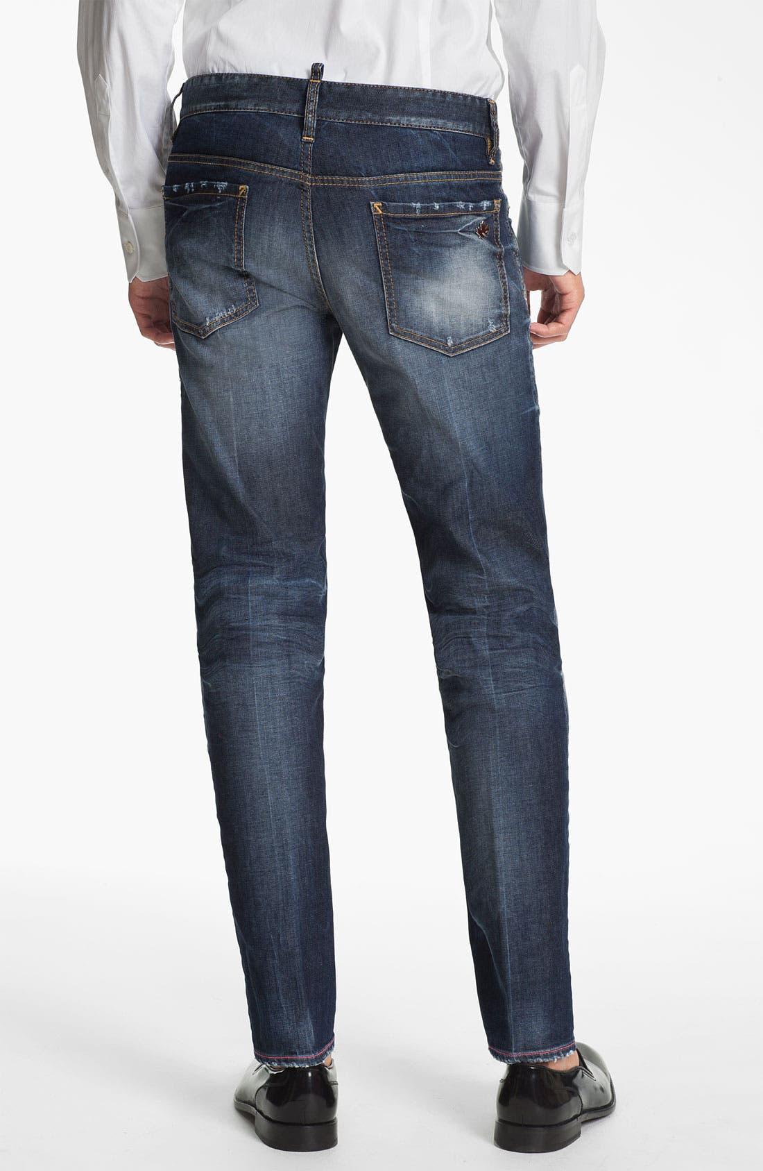 Alternate Image 2  - Dsquared2 'Dean' Straight Leg Jeans