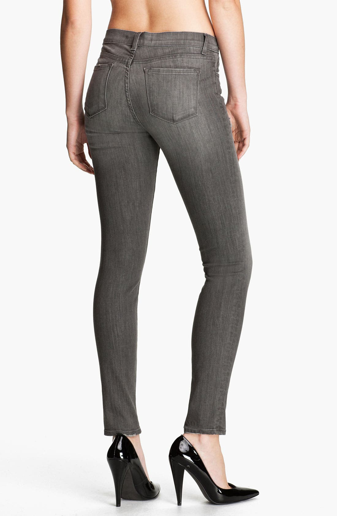 Alternate Image 2  - J Brand Skinny Stretch Ankle Jeans