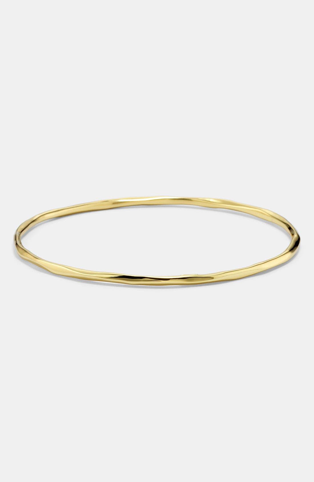 Alternate Image 1 Selected - Ippolita 'Glamazon' Faceted 18k Gold Bangle