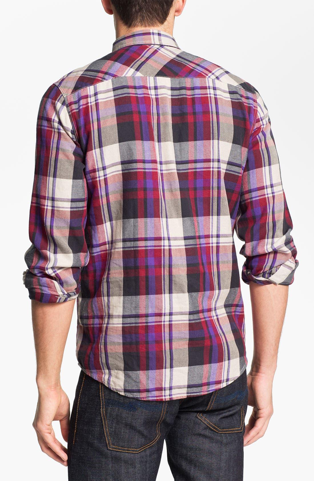 Alternate Image 2  - Ben Sherman 'Clerkenwell' Plaid Flannel Shirt