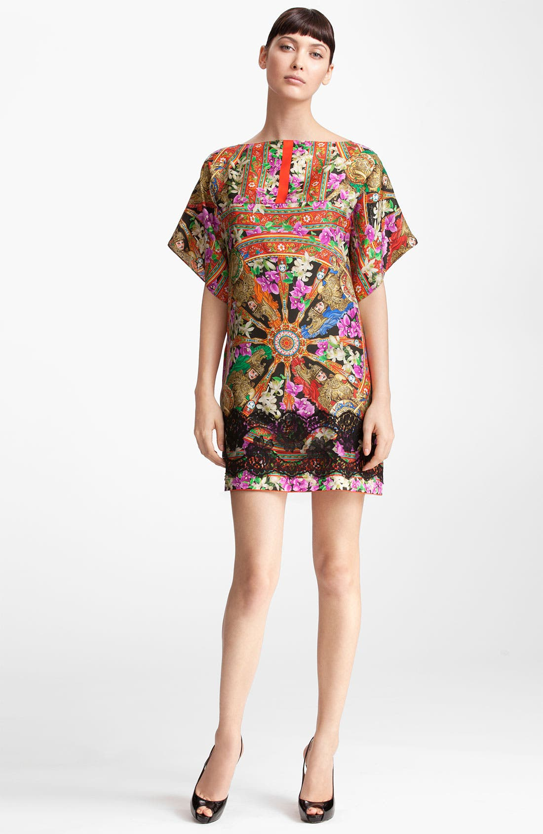 Alternate Image 1 Selected - Dolce&Gabbana Lace Trim Twill Tunic