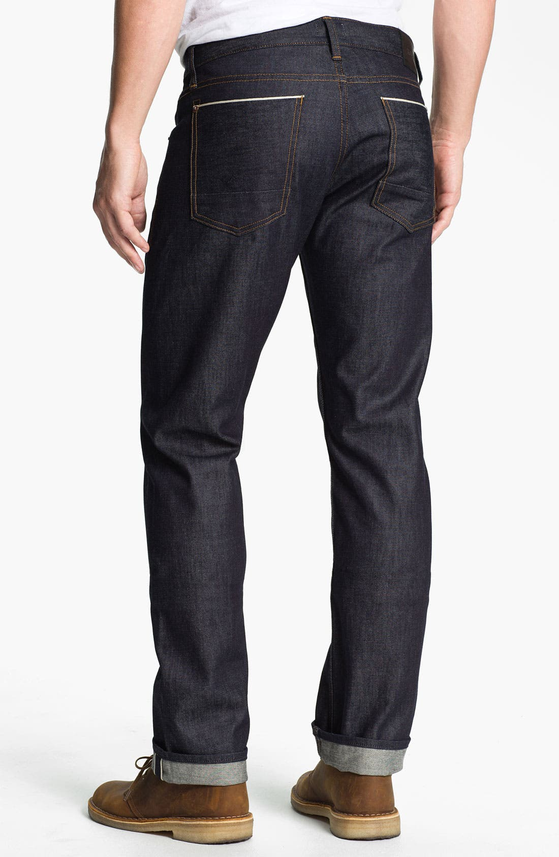 Alternate Image 1 Selected - Hudson Jeans 'Byron' Straight Leg Jeans (Turbotech Selvage)
