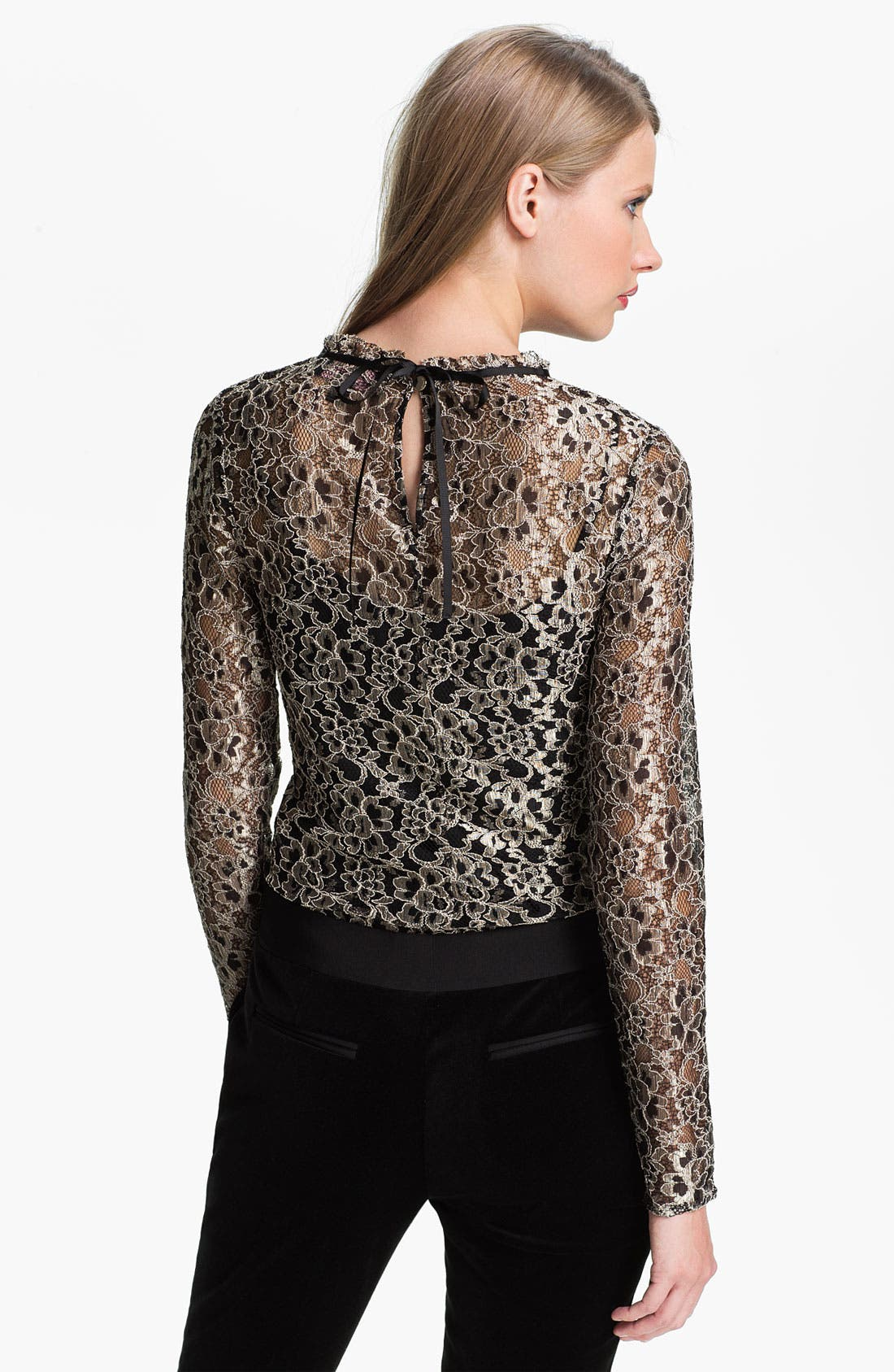 Alternate Image 2  - Ted Baker London Lace Top