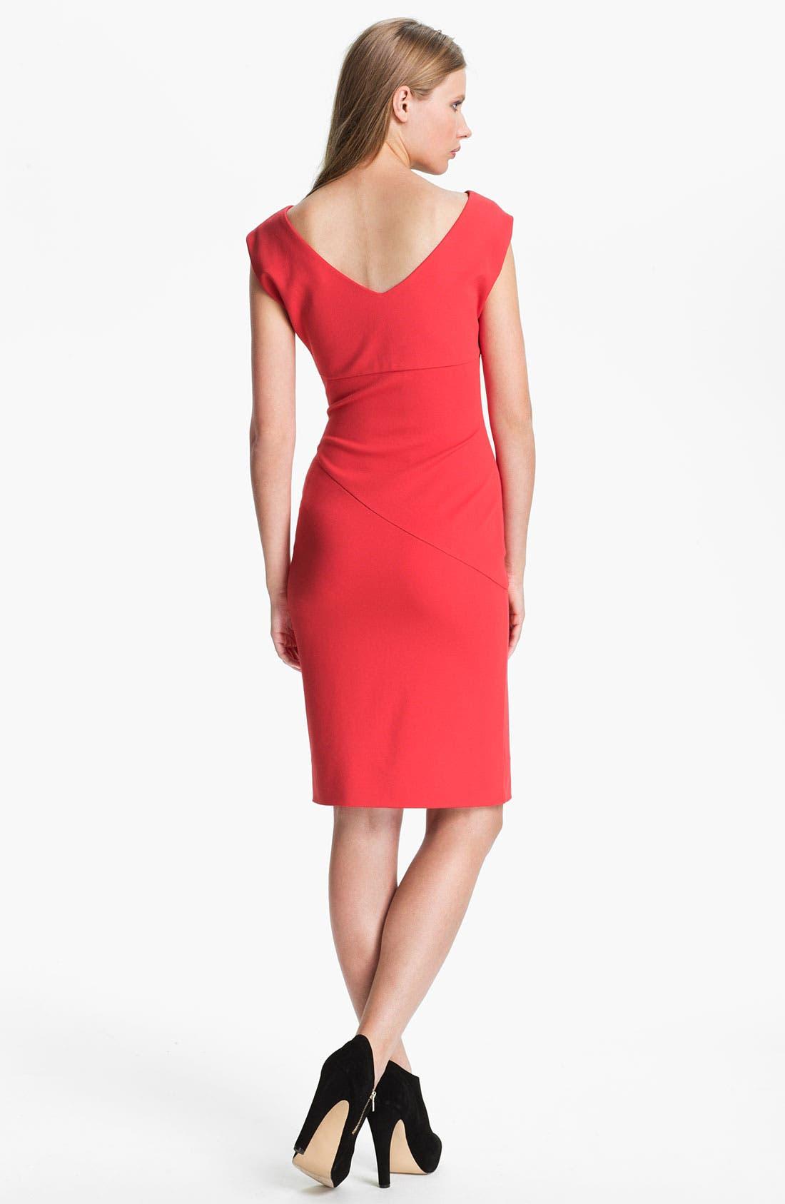 Alternate Image 2  - Diane von Furstenberg 'Jori' Ruched Sheath Dress