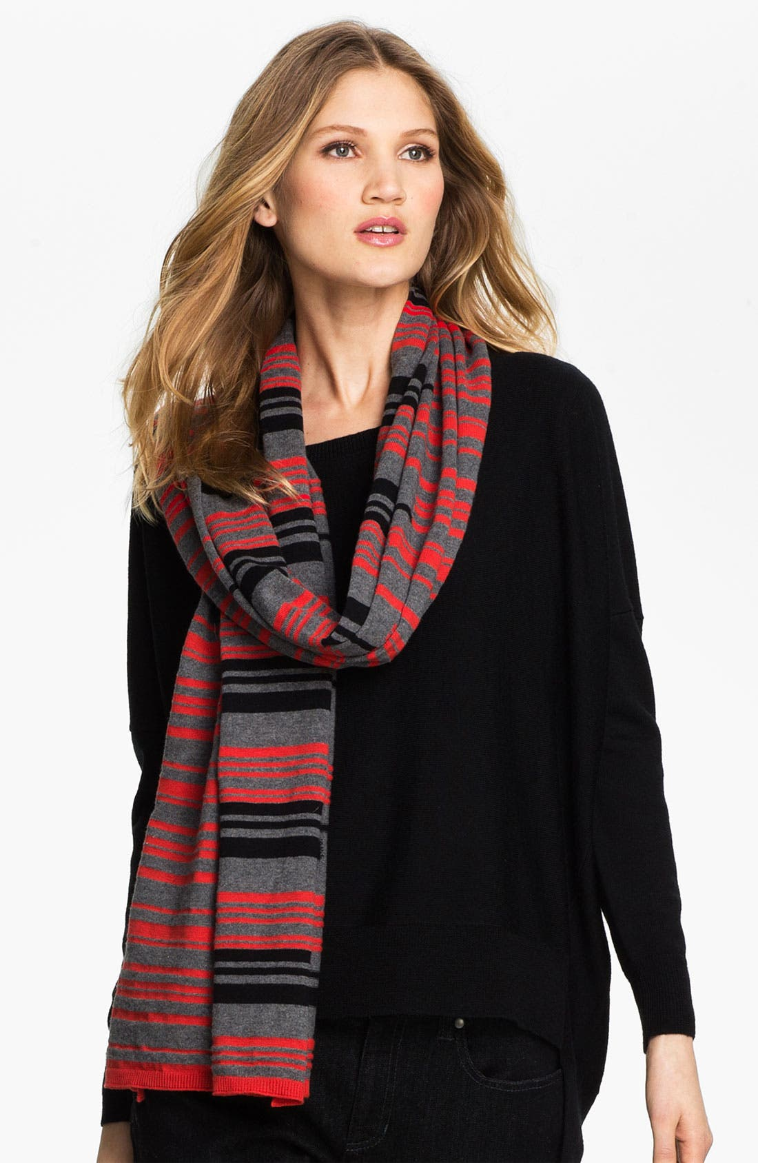Alternate Image 1 Selected - Eileen Fisher Organic Cotton & Cashmere Scarf