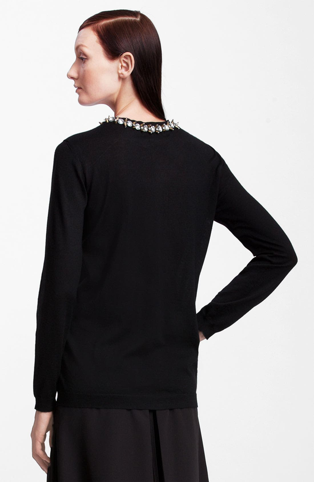 Alternate Image 2  - Marni Jewel Collar Cashmere Cardigan
