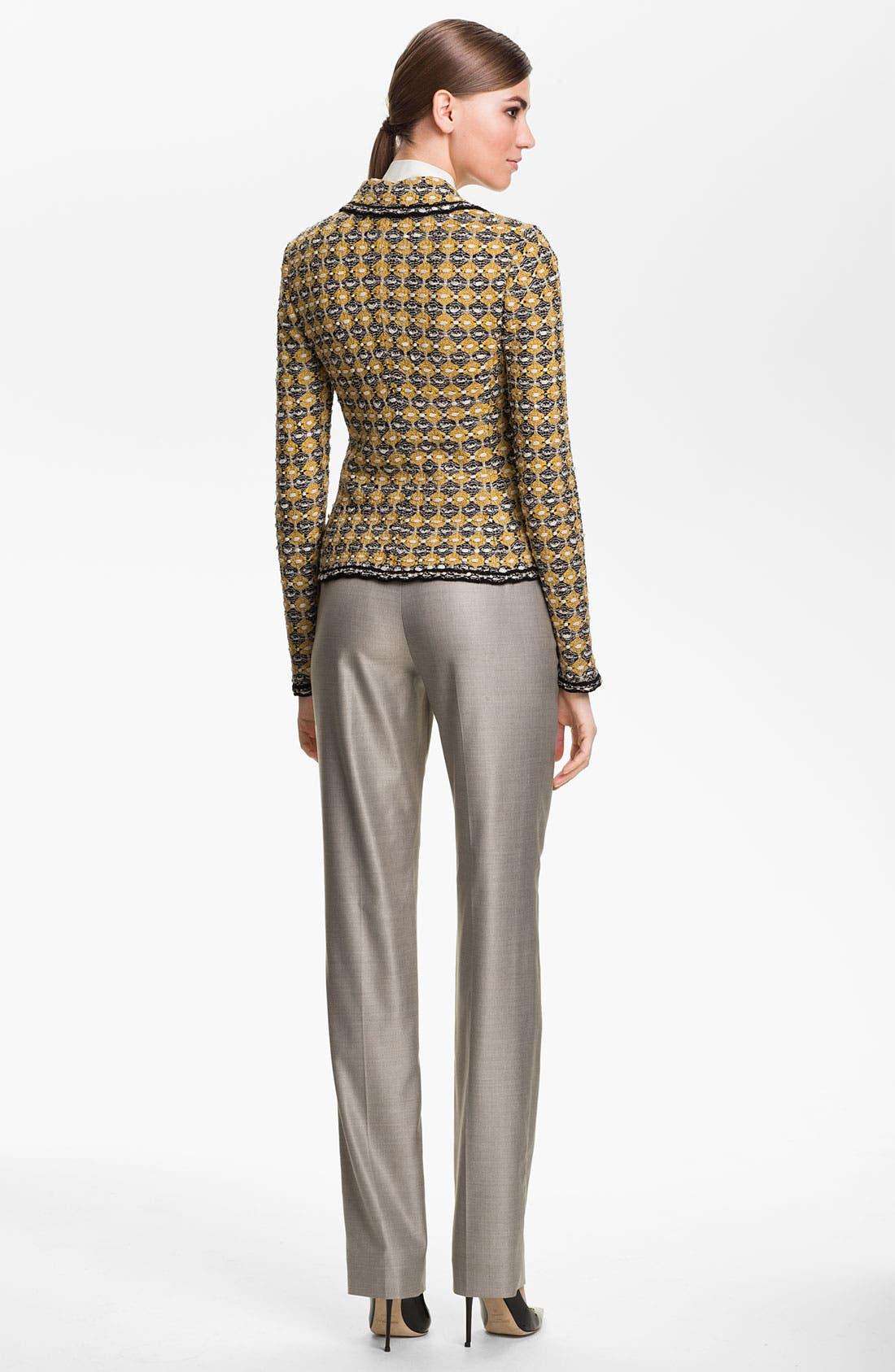 Alternate Image 3  - St. John Collection Geometric Tweed Jacket
