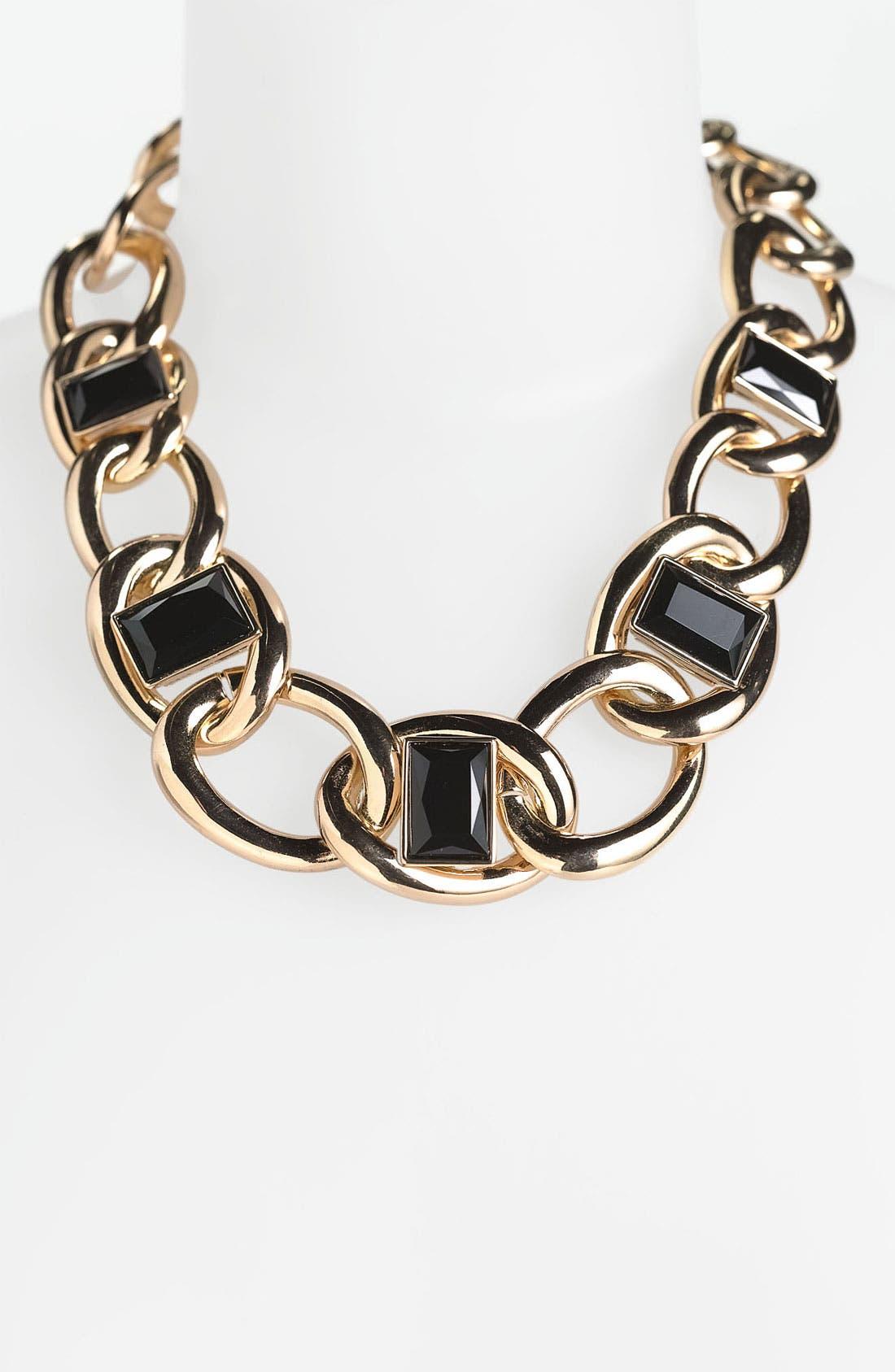 Alternate Image 1 Selected - Anne Klein Link Collar Necklace