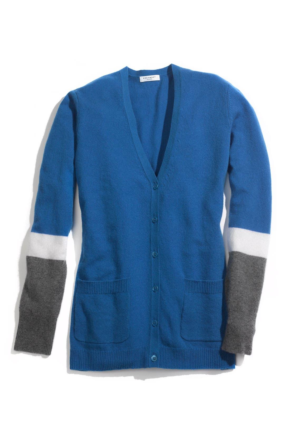 Alternate Image 2  - Equipment Colorblock Cardigan