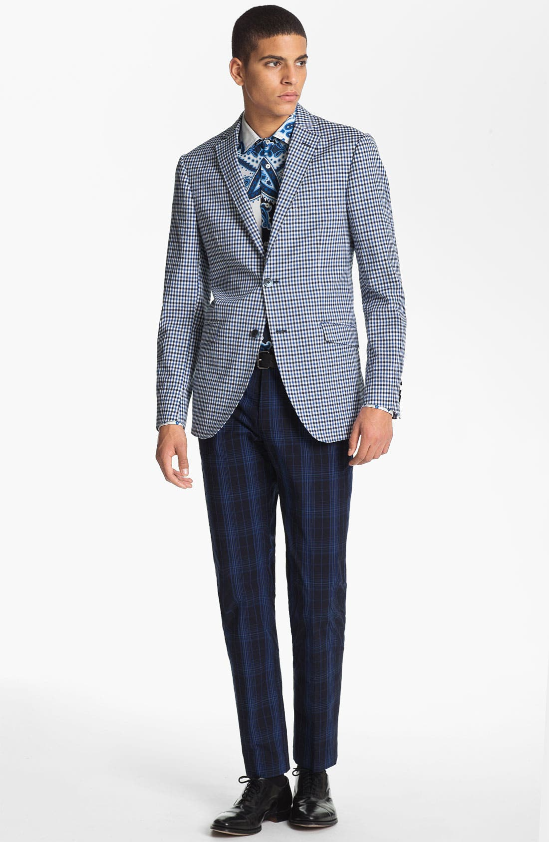 Alternate Image 4  - Etro 'Minerva' Gingham Blazer
