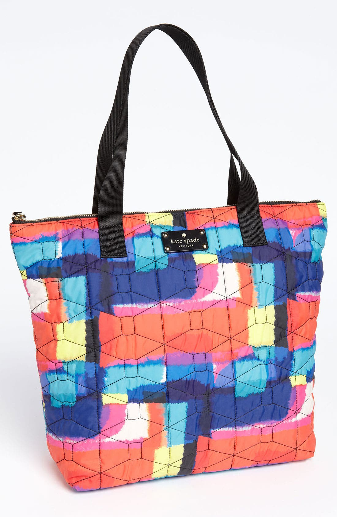 Alternate Image 1 Selected - kate spade new york embroidered bon shopper