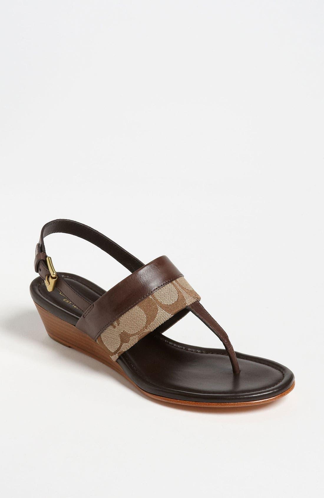 Main Image - COACH 'Violett' Sandal