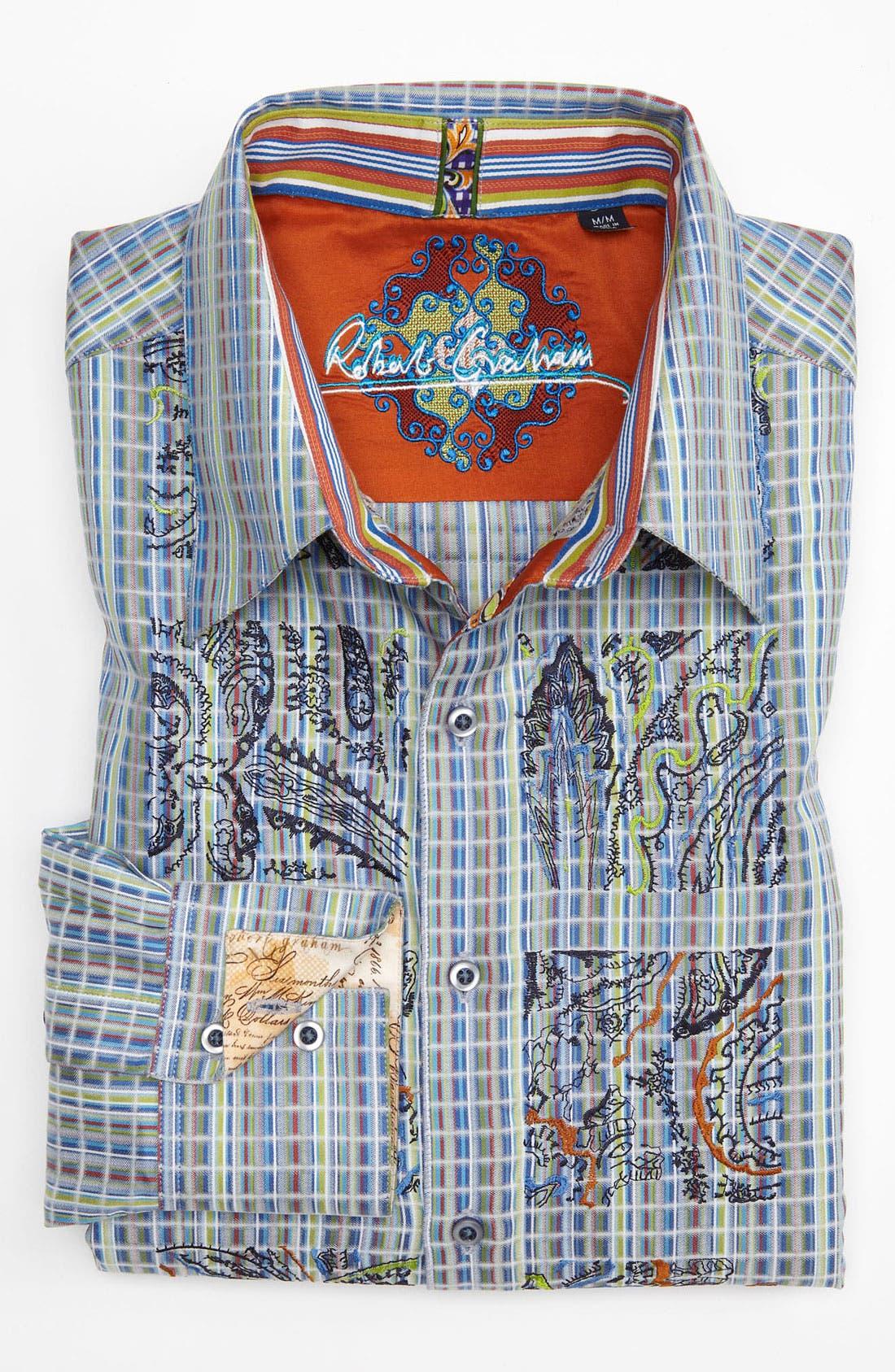 Alternate Image 2  - Robert Graham 'Free Board' Sport Shirt