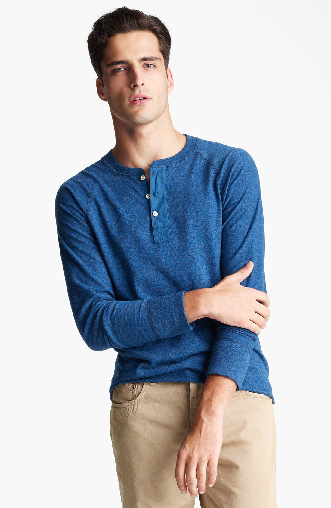 Main Image - rag & bone Long Sleeve Henley