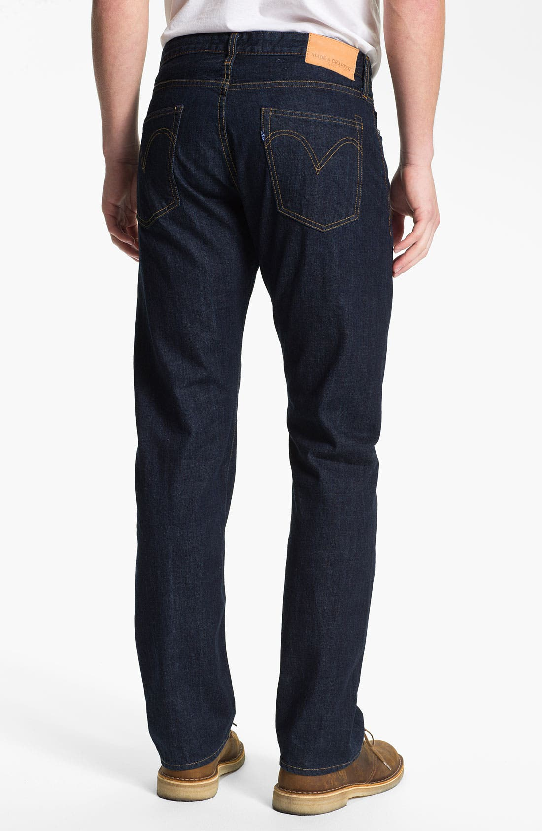 Alternate Image 2  - Levi's® Made & Crafted™ 'Cutter' Relaxed Straight Leg Jeans (Easy Rinse)