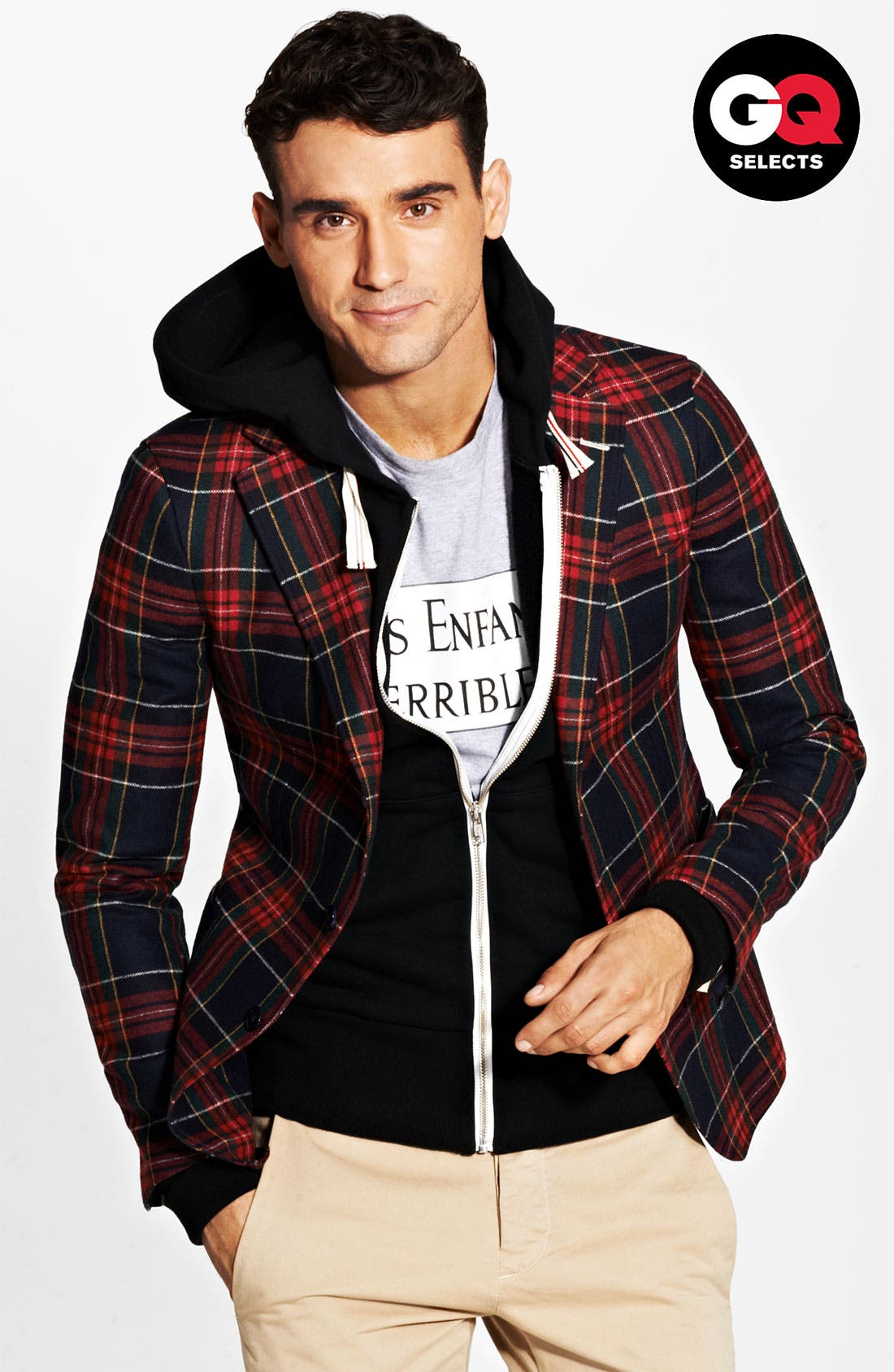 Alternate Image 1 Selected - Gant Rugger Tartan Plaid Sportcoat